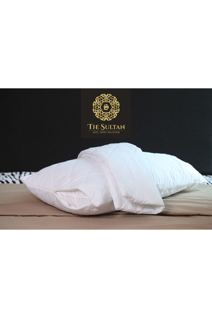The Sultan Padded Pillow Protectors High Quality 5 Star Standard