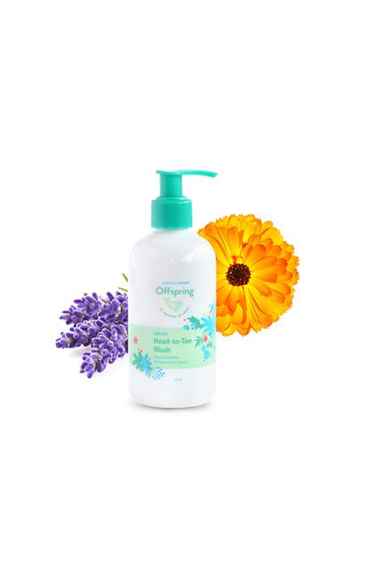 Offspring Natural Organic Gentle Head-To-Toe Wash (50ml / 250ml / 500ml)