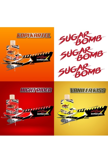 Sugarbomb Air Freshener X Man6.2 Limited Edition