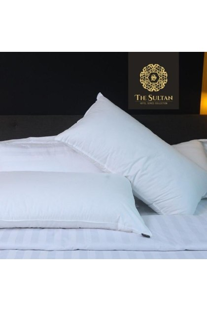 The Sultan Feather Synthetic Pillow - SET & PACKAGE for King   Queen   Single Bed