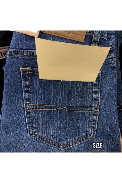 LUSH Denim Men's Slim Straight Fit Designer Jeans