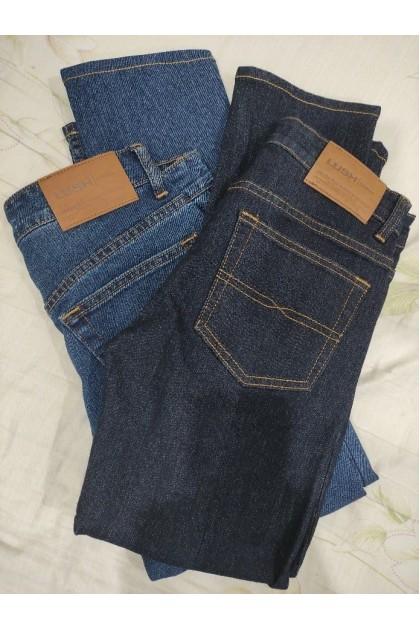 Lush Stone Blue Denim Men's Slim Fit Jeans