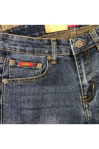 Lush Dusty Blue Denim Men's Slim Fit Jeans