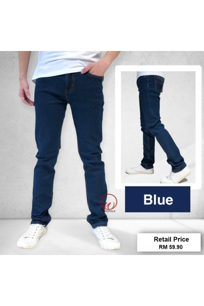 LUSH Denim Men's Skinny Fit Stretchable Jeans